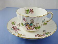 VERMONT S-365 CUP & SAUCER FLAT BY MINTON CHINA