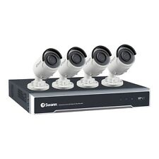 Swann 8 Channel 5MP CCTV System - 5MP NVR with 2TB HDD & 4 x 5MP Bullet Cams