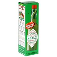 Tabasco Green Pepper Mild Flavor Hot Sauce 5 oz Bottle