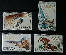 SPAIN 1968 OLYMPIC GAMES MEXICO SG1943/46 Set of 4 MNH (No089)