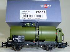CSD Kesselwagen Zek grün Bremserhaus EpIV TILLIG 76532 H0 1:87 OVP NEU KD1 µ *