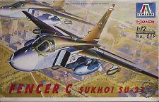 Italeri 1/72 Sujoi (Sukhoi) Su-24 'Fencer-C' #019 - Sin caja