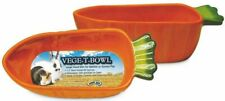 Super Pet Small Animal Bowl Vege-T Carrot Orange