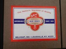 NOS Belknap hardware label shovel or tub