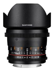 Samyang 10mm T3.1 Cine Version II Wide Angle Lens for Micro Four Thirds MFT M4/3