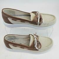 Clarks Cloud Steppers Flat Lower Boat Shoes Womens Size 9 M.
