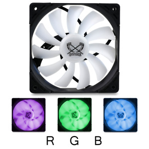 Scythe Kaze Flex 120mm PWM RGB 1200RPM Case Fan (Premium Quiet LED PC Cooling)