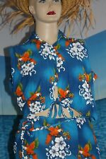 Tropical    Cover up  2  pc   Sarong   Wrap Skirt