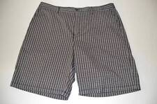 ADIDAS SPORTS GOLF DRY FIT BLACK BROWN PLAID SHORTS MENS SIZE 40