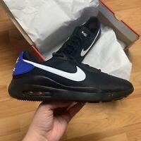 Nike Men's Air Max Oketo Trainers Size UK 8.5 EUR 43 Black AQ2235 016 NEW