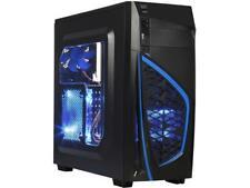 DIYPC Zondda-B Black SPCC ATX Mid Tower Computer Case