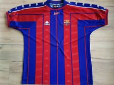 FC BARCELONA! 1997-98 shirt trikot maglia camiseta kit jersey! 3,5/6 ! XL adult@