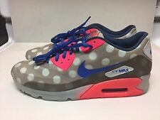 NIKE AIR MAX 90 ICE CITY QS STONE BROWN HYPER PUNCH BLUE NYC POLKA DOTS NY DS 11
