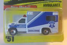 Matchbox 1997  #51 Ambulance White