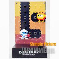 RARE! Namco Dotgraphics Dig Dug Figure with Game Sound JAPAN FAMICOM