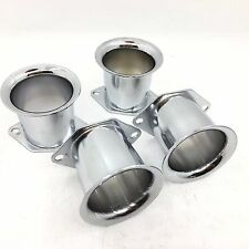 4PCS Velocity Stacks air horn for WEBER 40/44/48IDF 40DCOE 45dcoe  pipe trumpet