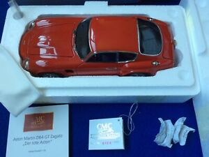 CMC Aston Martin DB4 GT Zagato 1961. Red Limited Edition. 1:18. M-146. Mint.