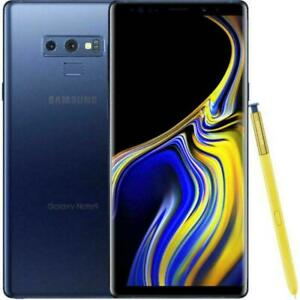 Samsung Galaxy Note 9 N960U 128GB Factory Unlocked Verizon AT&T T-Mobile Blue