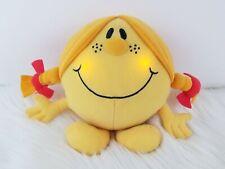 "Fisher Price Little Miss Sunshine Talking Singing Light Up Yellow Plush 8"""
