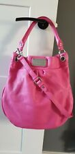 Marc by Marc Jacobs Pink  Classic Q Hillier Leather Hobo Shoulder bag