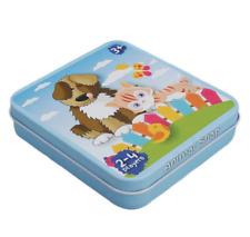 New - Animal Snap Cards In Tin - Game Stocking Filler/Toy/Gift
