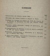 SOCIETE D'EMULATION HISTORIQUE ET LITTERAIRE D'ABBEVILLE ANNEE 1958