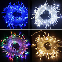 10M 100LED String Fairy Wedding Light Lamp Xmas Party Christmas Tree Home Decor