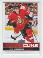 (64854) 2012-13 UPPER DECK YOUNG GUNS JAKOB SILFVERBERG #238 RC