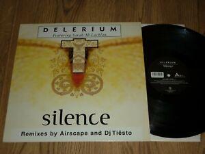 "DELERIUM - Silence (Remixes By Airscape & DJ Tiesto) UK 12"" - NETTWERK"