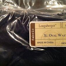 LONGABERGER X Large Oval Waste Liner - Fabric INDIGO Blue - Made in CHINA