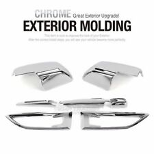 Exrerior Chrome Molding Side Mirror Blade Fender Repeater Set for KIA 08-13 Soul