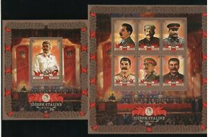 J.Stalin Full set of 8 souvenir sheets MNH OG VF