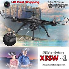 Syma X5SW X5SW-1 RC Quadcopter RTF Drone 2.4G 4CH 4Axis WiFi Cam FPV Helicóptero