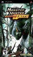 Monster Hunter Freedom Unite  PSP Game Only