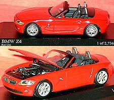 BMW Z 4 Cabriolet E85 2002-08 rouge rouge 1:43 Minichamps
