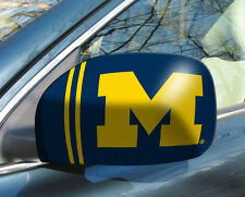 Michigan Wolverines Mirror Cover 2 Pack - Small [NEW] NCAA Auto Car Truck CDG