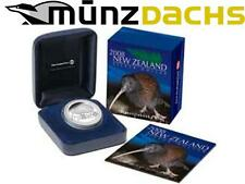 $1 Dollar Kiwi New Zealand 2008 1 oz .999 fine silver proof in box Sold Out