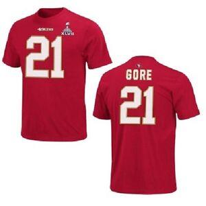 NFL T-Shirt San Francisco 49ers Frank Gore 21 Super Bowl Superbowl Pack Jersey