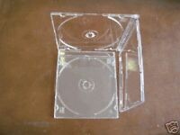 200 5.2MM SLIM CD JEWEL CASES W/SUPER CLEAR TRAY, PSC16