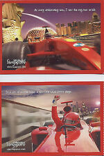 F1 Singapore Gran Prix Uniquely Singapore Postcard 2008