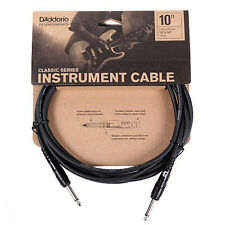 PLANET WAVES PW-CGT-10, 10' CLASSIC SERIES INSTRUMENT CABLE, 2 STRAIGHT ENDS