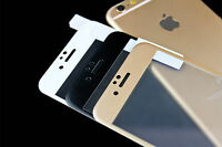Full Gold  3D Curved Cover Tempered Glass Screen Protector For iPhone 6s