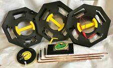 Earthing & Grounding Spike Test Kit, 3 spikes, 3 reels, With 30m Measuring Tape