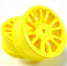 85005 Yellow Front Wheel Rims x 2 1/16 HSP Hi Speed Parts