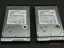 Hitachi Data Systems Hard Drive SATA 500GB 7500RPM 0A36284 (Lot of 2) #1132