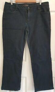 Ladies size 16S Dark Blue Madison Denim Jeans - Colorado