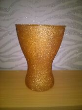 Glitter Glass Vase Can be done in colour of your choice
