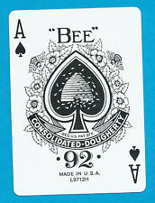 WPT World Poker Tour playing card single swap ace of spades - 1 card