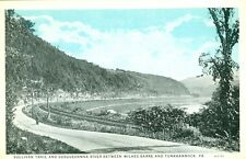Wilkes-Barre, PA Motorcycling the Sullivan Trail & Susquehanna R to Tunkhannock,