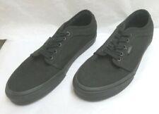 Vans Chukka Low Skate Shoes Blackout Ultra Cush HD Footbeds M-8.0/W-9.5 NWOB